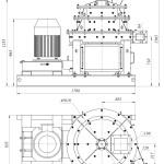 Мельница промышленная МК-160×700