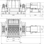 Мельница шахтная МСМ-1000