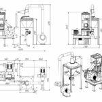 Центробежная мельница трехступенчатая ударная МЦ-700