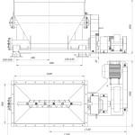 Питатель шнековый ПШ-2/100В