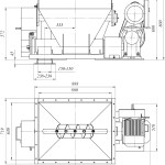 Питатель шнековый ПШ-1/150Ч