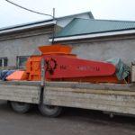 Дробилка валковая с гладкими валками ДВГ 2/800