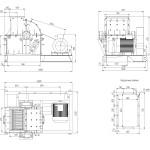 Габаритные размеры МПС-630
