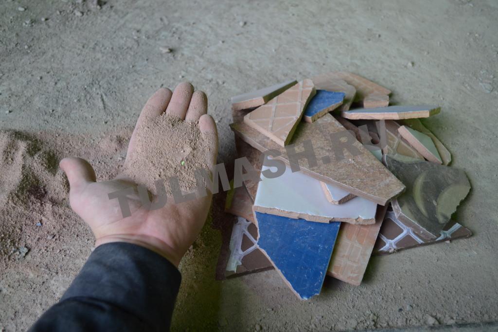 Измелчение плитки (4)