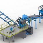 Линияизмельчения твердыхотходов производства минеральной ваты
