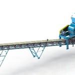 Технологический комплекс измельчения керамической плитки