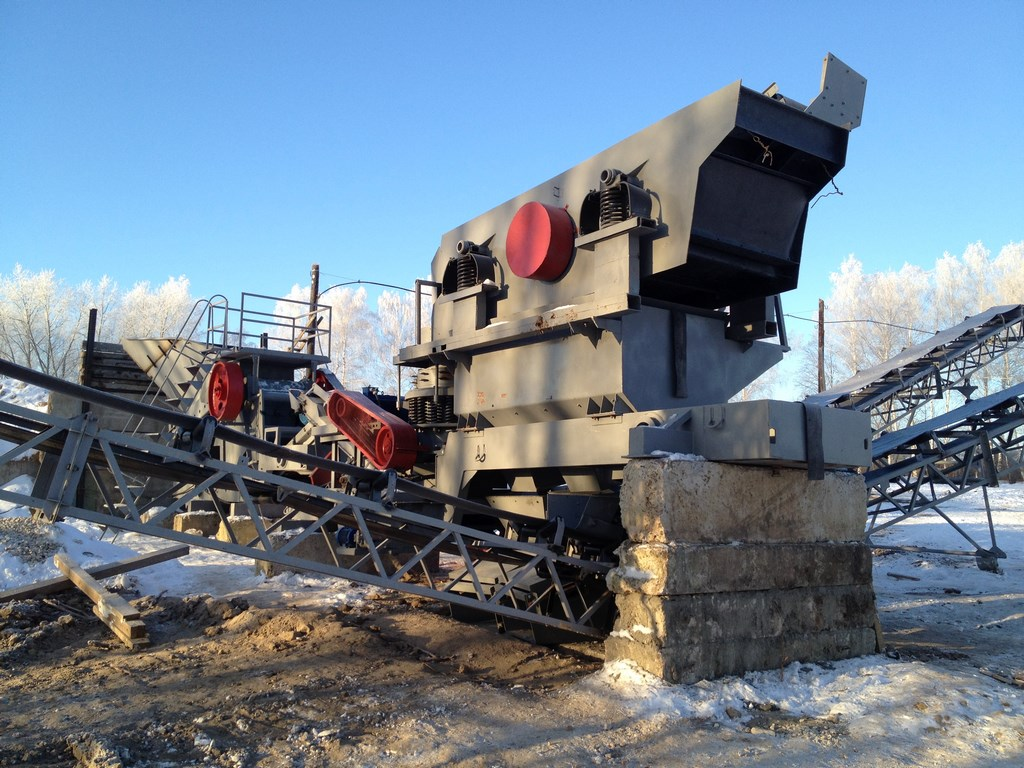 Дробильная установка ДСУ-30
