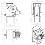 Щековая лабораторная дробилка ЩД-10