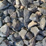 Crusher for crushed stone and other rock materials
