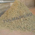 Линия по переработке мягких отходов производства минерального сырья