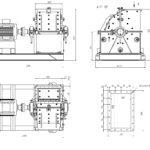 Молотковая дробилка СМД 504