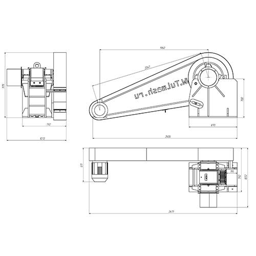 Щековая дробилка СДС 150*250