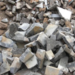Crusher for concrete