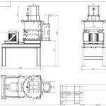 Цепная вертикальная дробилка ЦВД-900