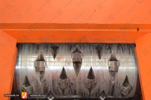 Режущие ножи одновального шредера ШР 430-850