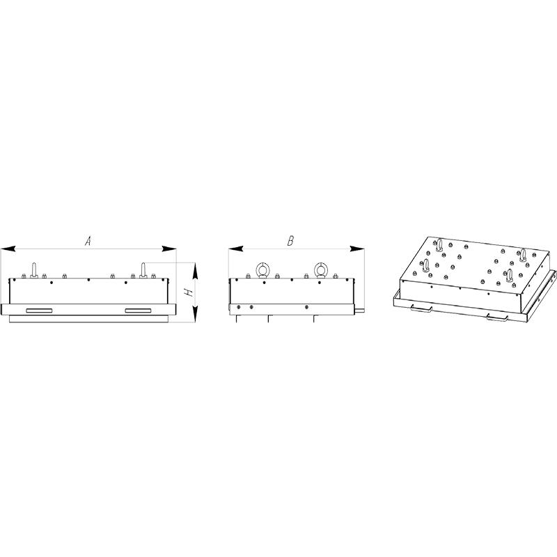 Плита магнитная механическая – МПМФ