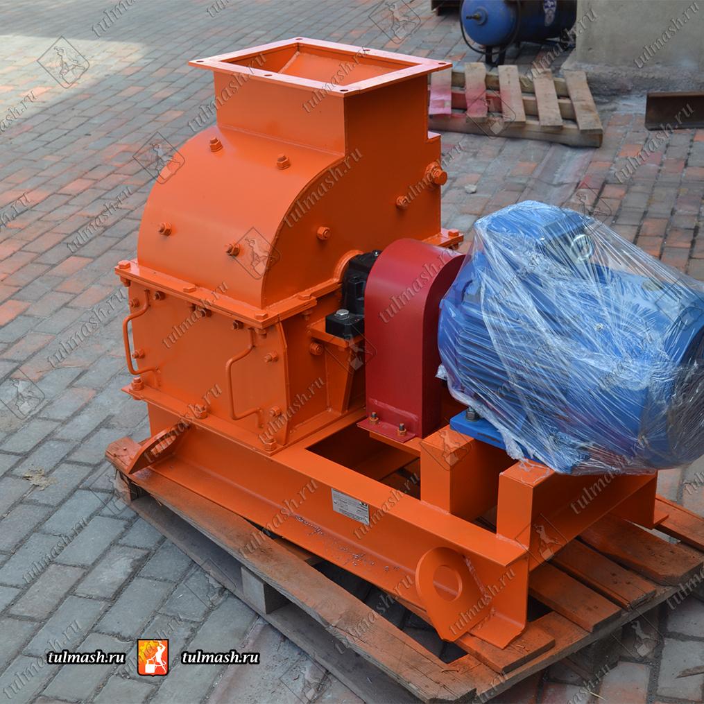 Молотковая дробилка МПС 300Л для измельчения доломитового щебня