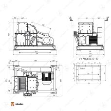 Молотковая дробилка МПС 630