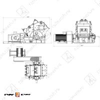 Роторная дробилка СМД 75А