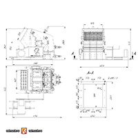 Роторная дробилка ДР-250