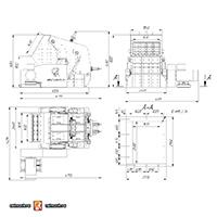 Роторная дробилка ДР-350