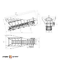 Пластинчатый питатель ТК-16