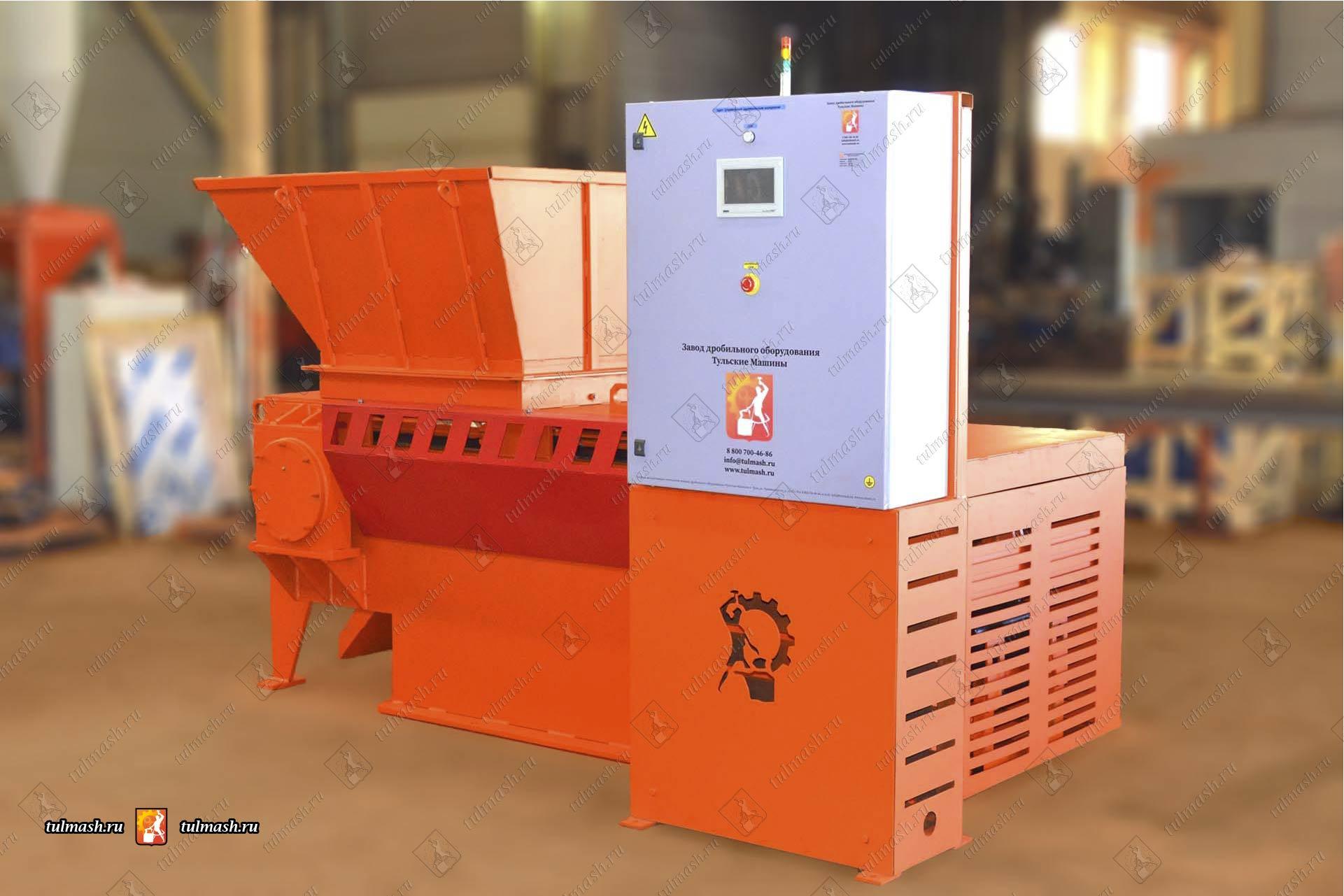 Произведен и отгружен промышленный шредер ШР 430-1100