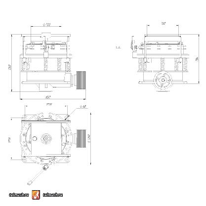 Конусная дробилка КД-600